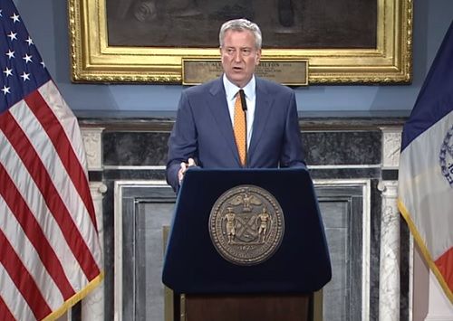 Mayor de Blasio's Reckless Remarks Keep NYC on Edge