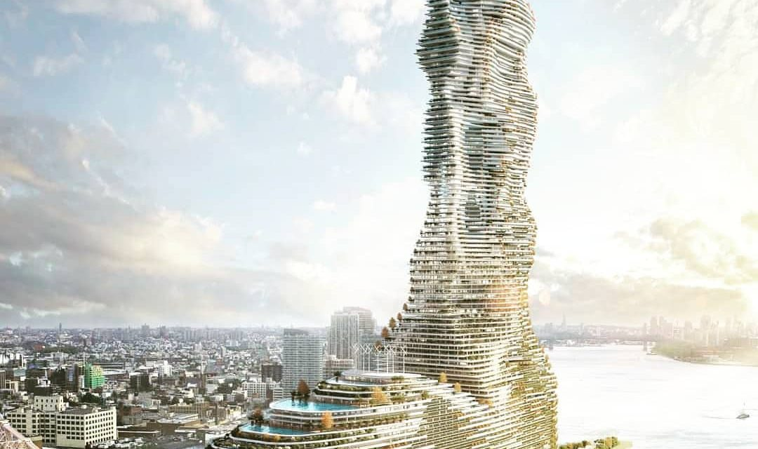 Eco-friendly tower proposed for Roosevelt Island
