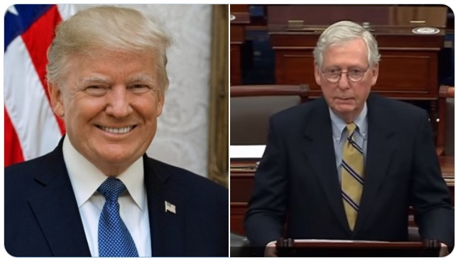 """Trump: McConnell a """"Third Rate"""" Leader"""