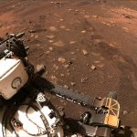Mars Rover goes for a drive